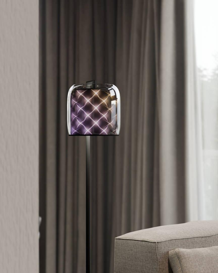 vanory Estelle Floor Lamp Hotel Pastell